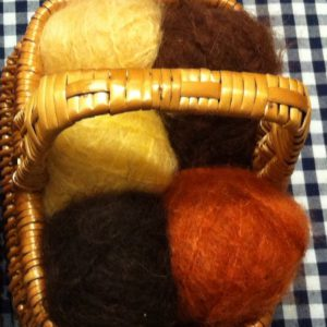 Mohair brushable
